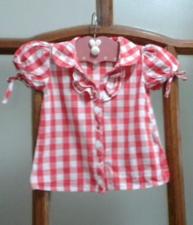 Camisa Blusa Cheeky Baby T X L 12/18 Meses Impecable