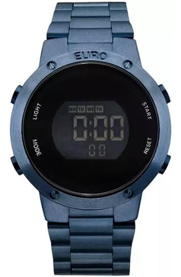 Relógio Feminino Euro Eubj3279ac/4a Azul