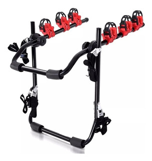 Porta 3 Bicicleta Portabicicleta Reforzado Airway Baul Auto