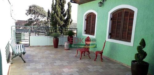 Maravilhosa Casa Térrea No Bairro Cidade Jardim, Em Taubaté - Ca6556