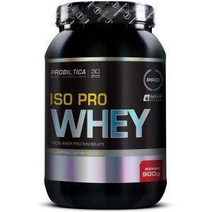 Iso Pro Whey 900 Gramas - Probiotica Sabor:morango