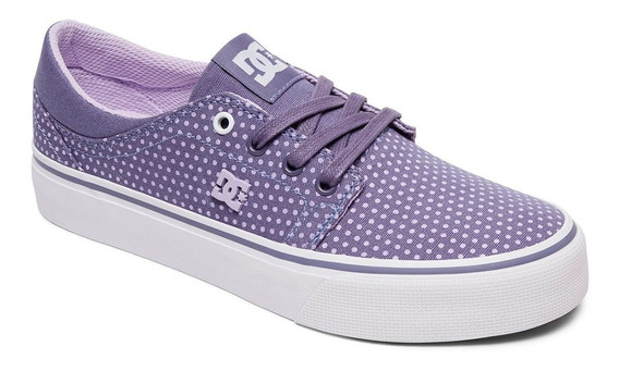 Tenis Dc Shoes Purpura Nuevos Originales #24