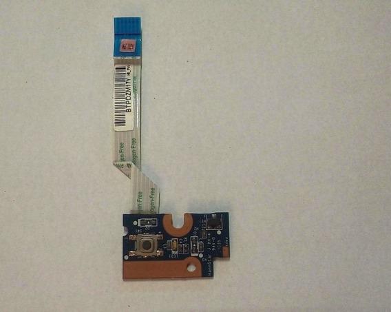 Botão Power Placa Notebook Hp G42 271br - Da0ax1pb6e0