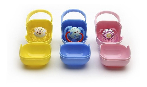 Guarda Chupete De Bebe Cajita - Baby Innovation By Creciendo