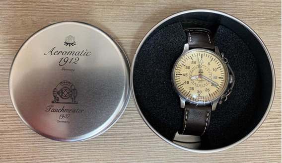 Relógio Aeromatic Alemão