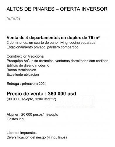 Venta De Proyecto, Maldonado.- Ref: 1787