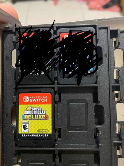 New Super Mario Bros U Deluxe - Nintendo Switch - Não Abaixo