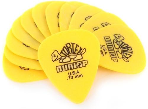 Jim Dunlop 418p 0.73 Tortex Standard Pack 12 Puas