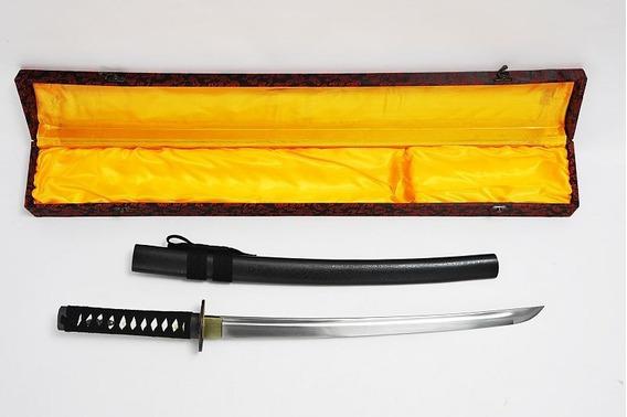 Espada Katana Samurai De 71cm Funda + Caja - Envió Gratis.