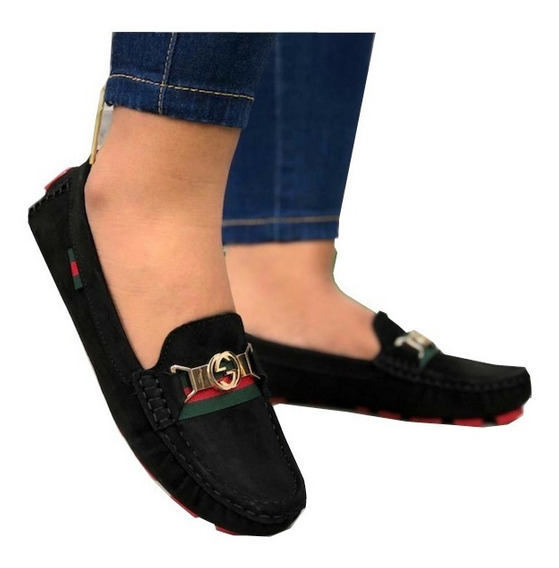Zapatos Mujer, Mocasin Dama, Gucci, Casual