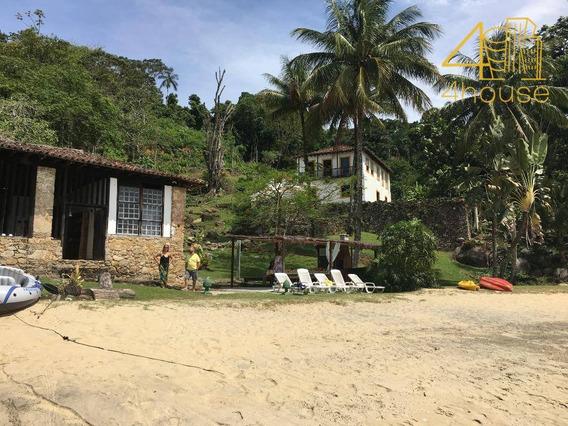 Angra Dos Reis - Fazenda Com Casa Antiga + Ilha Terreno 680.000m² Com 1.100m De Praia Privativa Para Venda. - Fa0017