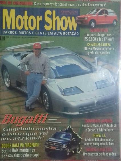 Revista Motor Show - Carros,motos E Gente Em Alta Rotação...