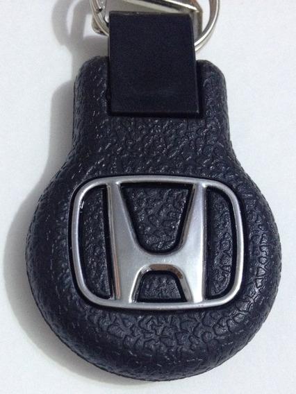 Chaveiro Mosquetão Emborrachado Honda Civic Fit City Accord
