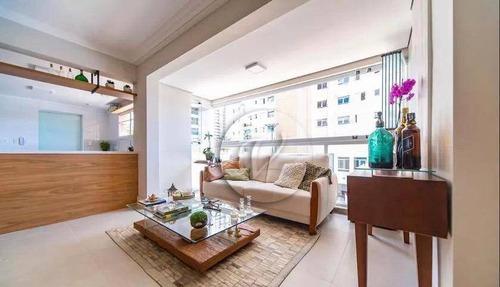 Apartamento Com 3 Dormitórios À Venda, 120 M² Por R$ 780.000,00 - Jardim - Santo André/sp - Ap9992