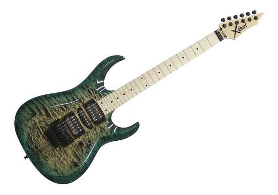 Guitarra Cort X 11 Qm Quilted Maple Com Floyd Rose - Nf Gtia