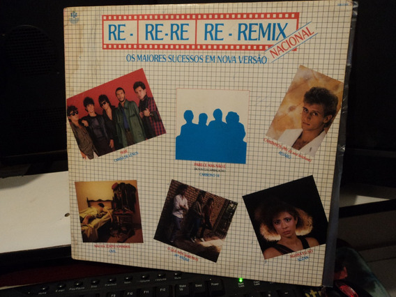 Lp Re Re Remix-camisa De Venus/suzan/civil-exel.sonoridade++