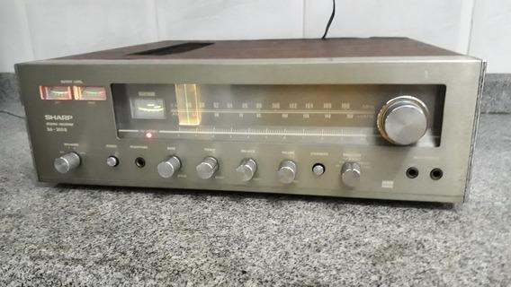 Receiver Am Fm Stereo Sharp Modelo Sa-300b Raro E Perfeito