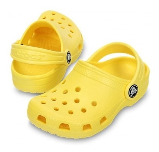 Crocs Classic Amarelo Sunshine