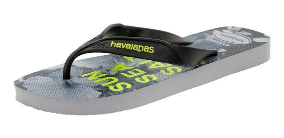 Chinelo Masculino Surf Preto Havaianas - 4000047