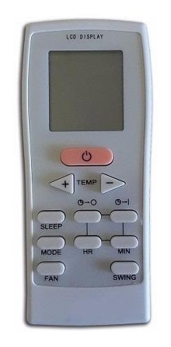 Controle Remoto P/ Ar Condicionado Split York Gz-12b-e1