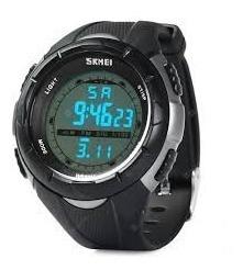 Relógio Unissex Skmei Digital 1074 Preto