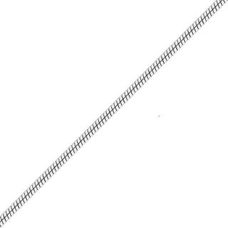 Cadena Plata925 Serpiente-cola-clapton Hombre 2mm X 60cm