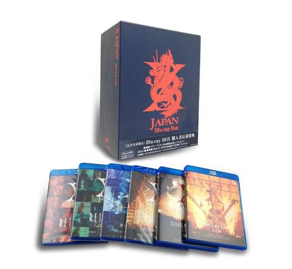 X Japan - Box - Bluray - Heavy Metal Japonês Novo Lacrado