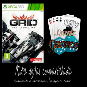 Grid Autosports Digital Compartilhado + Brinde Xbox 360