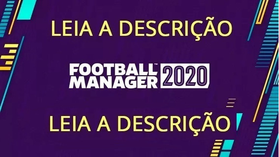 Football Manager 2020 Original Steam Português Disponível