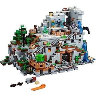 Juego De Construcción Lego Minecraft The Mountain Cave 21137
