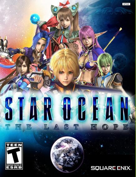 Star Ocean The Last Hope Pc (mídia Física)