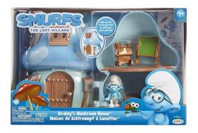 Casa Cogumelo Do Smurf Gênio Os Smurfs E A Vila Perdida