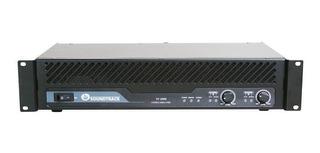 Amplificador Poder Rack Mounting Soundtrack St2000
