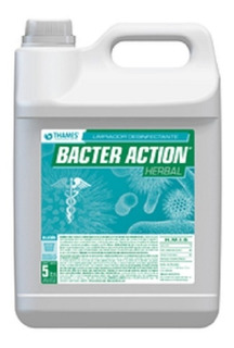 Desinfectante Bacter Action Herbal Bidon X 5 L Casa Thames