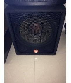 Sub-bajo Amplificado Jbl Jrx100