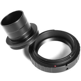 Anel T2 Dslr Nikon + Tubo Para Telescópios 1.25