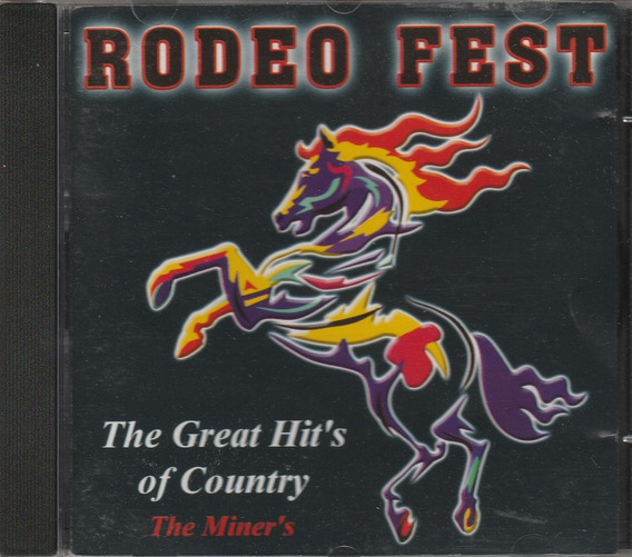 Cd Rodeo Fest The Great Hits Of Country - 2000