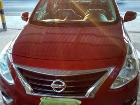 Nissan Versa 1.6 Exclusive L4 At 2015