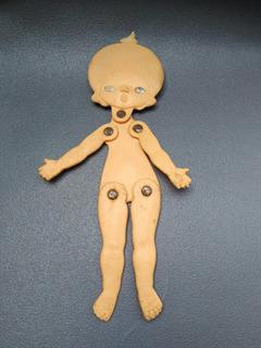 Toy Store: Juguete Antiguo Plastico Muñeca Plana Xmy