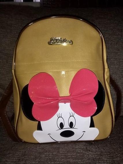 Kit Com 10 Mochilinhas Mickey E Minnie + Brinde Grátis