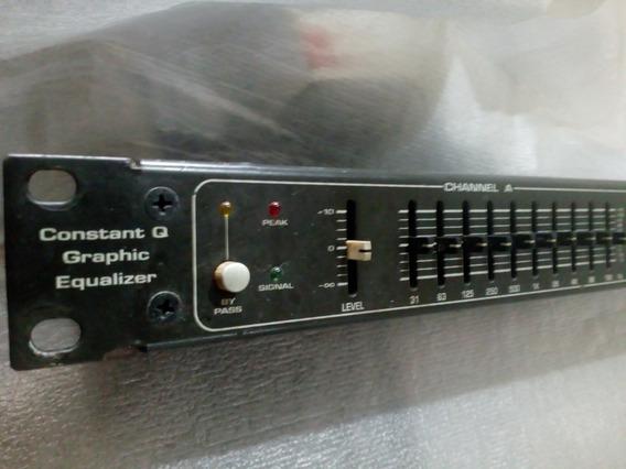 Equalizador Gráfico Ciclotron 15 Estéreo Cge 2101