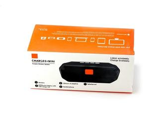 Parlante Bluetooth Charge 6+ Mini + Cargador Verde
