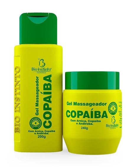 Kit 48 Unidades Gel Copaíba Bio Instinto