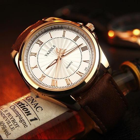 Yazole Relógio De Quartzo Top Marca De Luxo Famoso