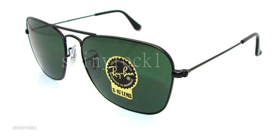 Óculos Ray-ban Rb3136 Caravan Original Preto Verdes G15