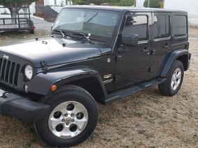 Jeep Wrangler Sahara 4 Ptas Unlimited