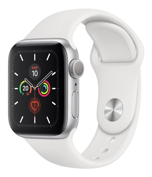 Correa Color Blanco Apple Watch 38mm 42mm Serie 1 2 3 4 5
