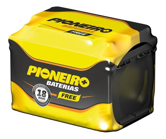 Bateria Automotiva Pioneiro 45ah 12v Selada Corolla Duster