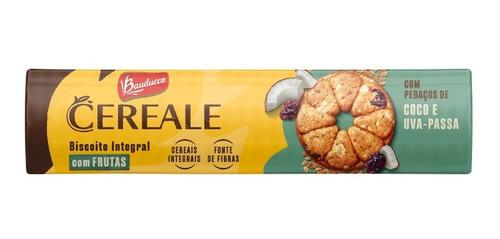 Imagem 1 de 1 de Biscoito Cereale & Frutas Coco E Uva Passa Bauducco 141g