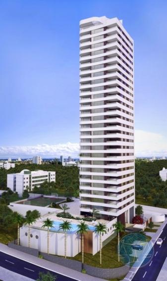 (7566) Apartamento Em Ponta Negra, 2/4 - V-7566